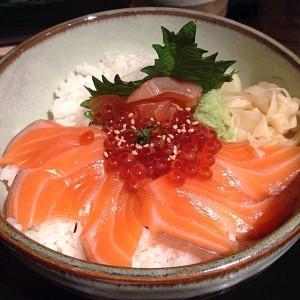 Sake Ikura Don Bowl